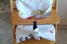 Makerist - Sitzkissen mit Überzug für Kinderstuhl - 1