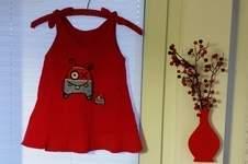 Makerist - Farbenmix Oona Kleidchen für meine  1 1/2 jährige Tochter - 1