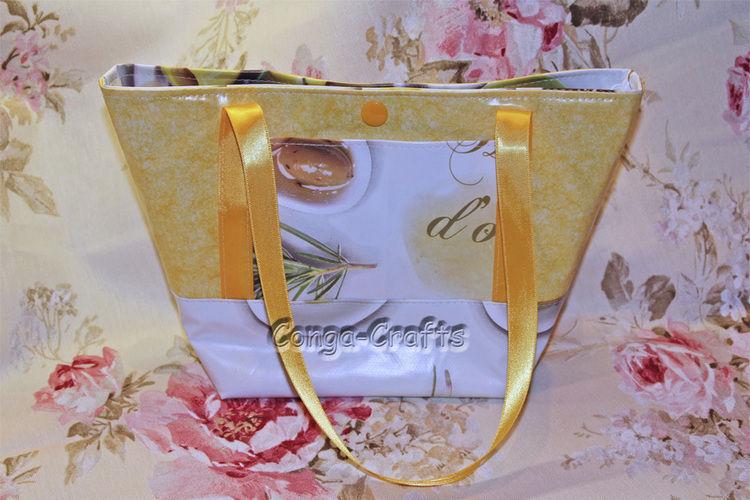 Makerist - Mini-Strandtasche aus Wachstuch - Nähprojekte - 1