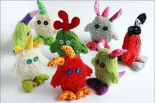Makerist - kleine Monster Gnüphies :-) - 1