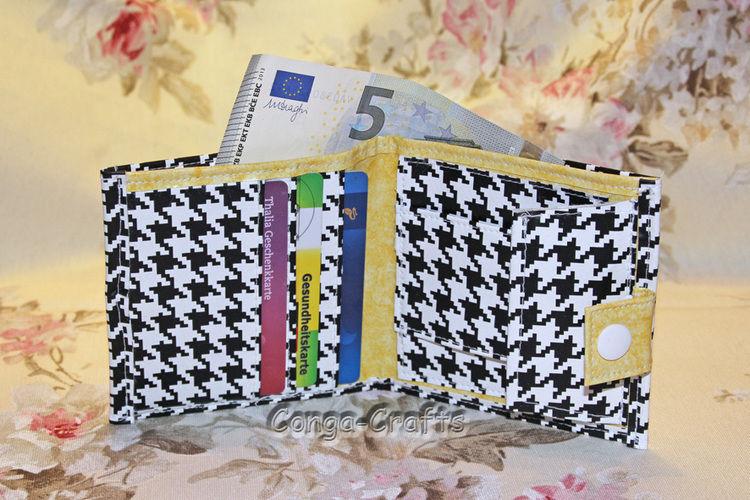 Makerist - Geldbeutel aus Wachstuch - Nähprojekte - 1