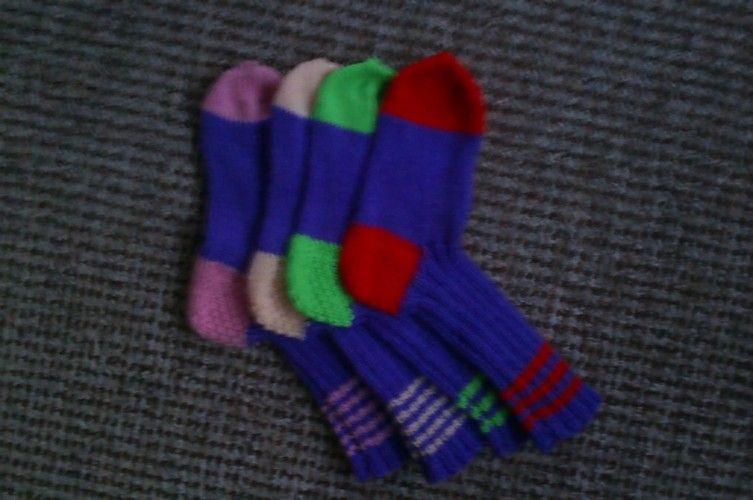 Makerist - Bunte Socken - Strickprojekte - 1