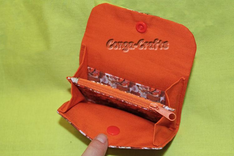 Makerist - Kleiner Geldbeutel mit eigenem Stoff - Nähprojekte - 2