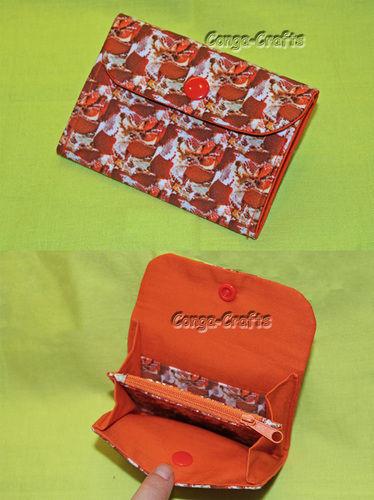 Makerist - Kleiner Geldbeutel mit eigenem Stoff - Nähprojekte - 3