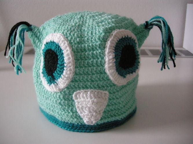Makerist - Eulenmütze für kleine Köpfe - Häkelprojekte - 2