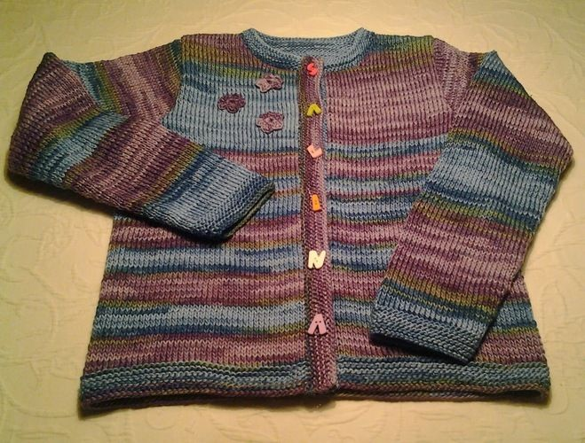 Makerist - Kinderweste - Strickprojekte - 1