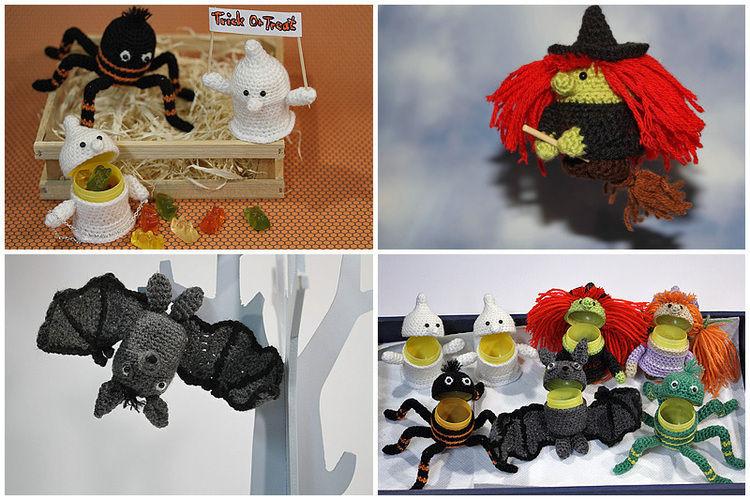 Makerist - Spooky-Üs Halloween-Set - Häkelprojekte - 1
