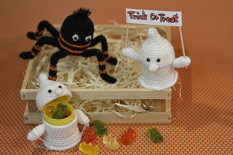Makerist - Spooky-Üs Halloween-Set - Häkelprojekte - 2