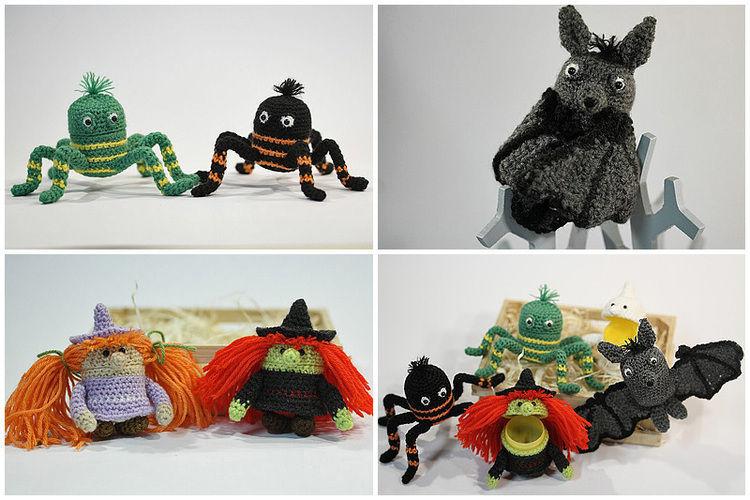 Makerist - Spooky-Üs Halloween-Set - Häkelprojekte - 3
