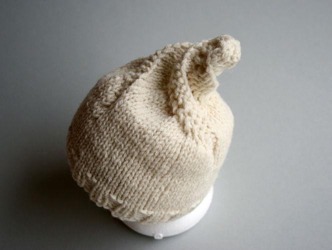 Makerist - Spiralschneckenmütze für Babys - Strickprojekte - 3
