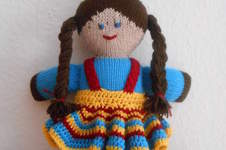 Makerist - Puppe mit Röckchen - 1