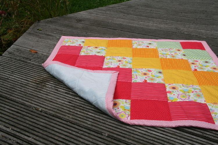 Makerist - Meine erste Patchwork-Decke  - Nähprojekte - 1