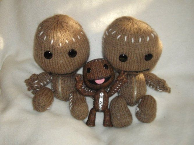 Makerist - Sackboys - Strickprojekte - 1