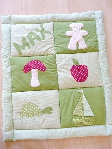 Makerist - Krabbeldecke für die Kleinsten !!!! - Nähprojekte - 2