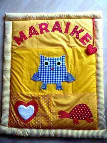 Makerist - Krabbeldecke für die Kleinsten !!!! - Nähprojekte - 3