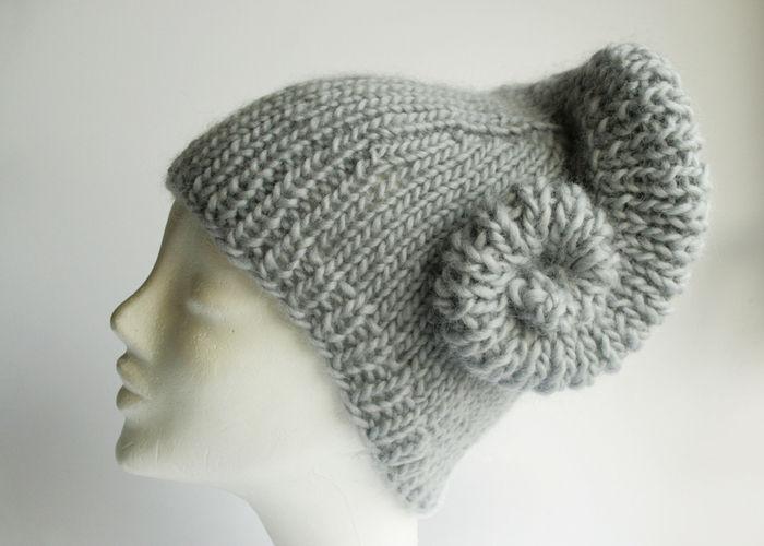Makerist - Mütze mit angestrickter Schnecke °Erin° - Strickprojekte - 1