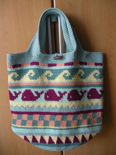Makerist - Strandtasche nach dem CAL von schoenstricken.de - Häkelprojekte - 1