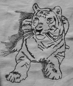 Makerist - Nähmalen - Tiger - 1