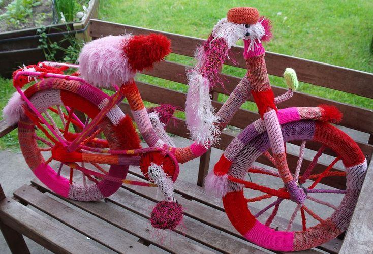 Makerist - Stricken: ein Fahrrad - Strickprojekte - 1