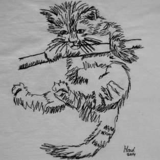 Makerist - Nähmalen - Kleines Kätzchen - 1