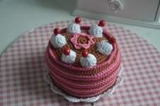 Makerist - Gehäkelte Torte - 1
