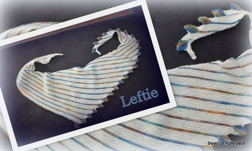 "Makerist - Tuch "" Leftie"" - Strickprojekte - 1"