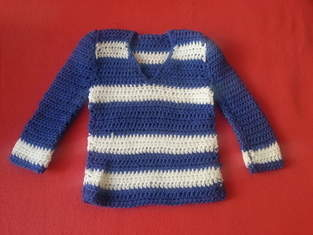 Makerist - Babypullover Matrose - 1