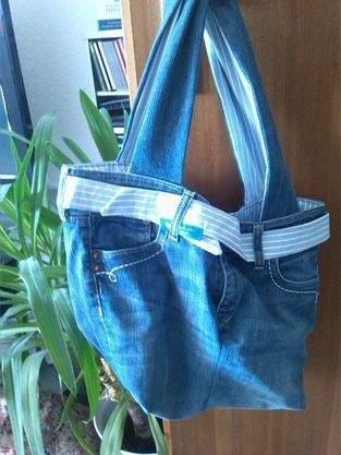 Makerist - Tasche aus alter Kleidung - 1