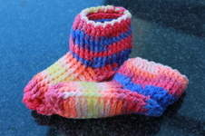 Makerist - Hüttenschuhe / Hausschuhe für die kalten Wintertage - 1