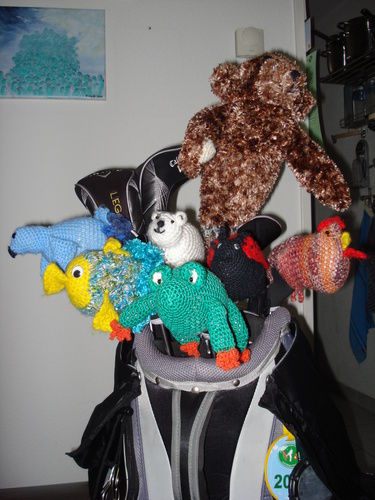 Makerist - Golfbag-Tiere - Strickprojekte - 1