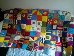 Makerist - gehäkelte Patchwork Decke  - 1