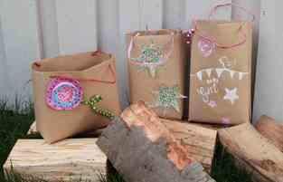 Makerist - Geschenktüten selber machen - 1