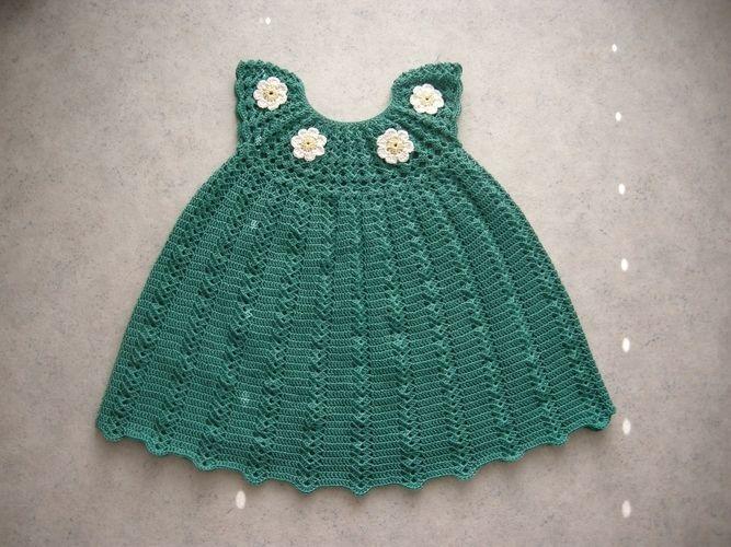 Makerist - Sommerkleidchen für eine ganz junge Dame - Häkelprojekte - 2
