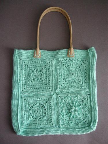 Makerist - Tasche aus verschiedenen Grannies - Häkelprojekte - 2