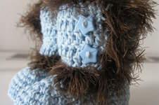 Makerist - Babystiefelchen für einen strengen Winter - 1