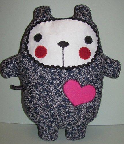 """Makerist - Teddy """"Sweetheart"""" - Nähprojekte - 1"""