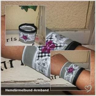 Makerist - Manschetten-Armband ;)  - 1