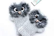 "Makerist - Handschuhe ""Uhu"" - 1"