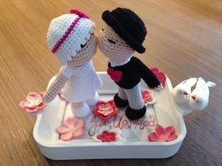Makerist - Gehäkeltes Hochzeitspaar - 1