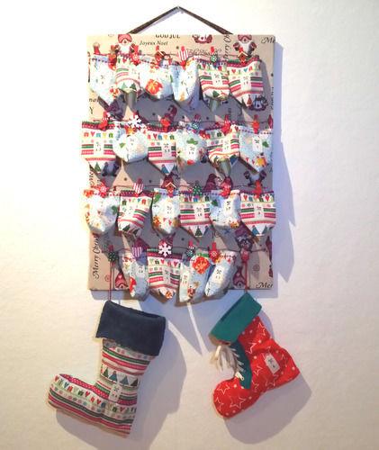 Makerist - XMAS-Adventskalender mit Säckchen für meinen Sohn - Nähprojekte - 1