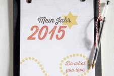 Makerist - Wochenkalender 2015 zum Selberbasteln - 1