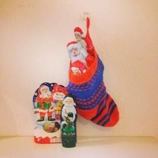 Makerist - Weihnachtsstrumpf Mystery Knit-Along in 70er Jahre Farbkombi - 1