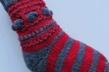 Makerist - Mystery Knit-Along Weihnachtssocke - 1