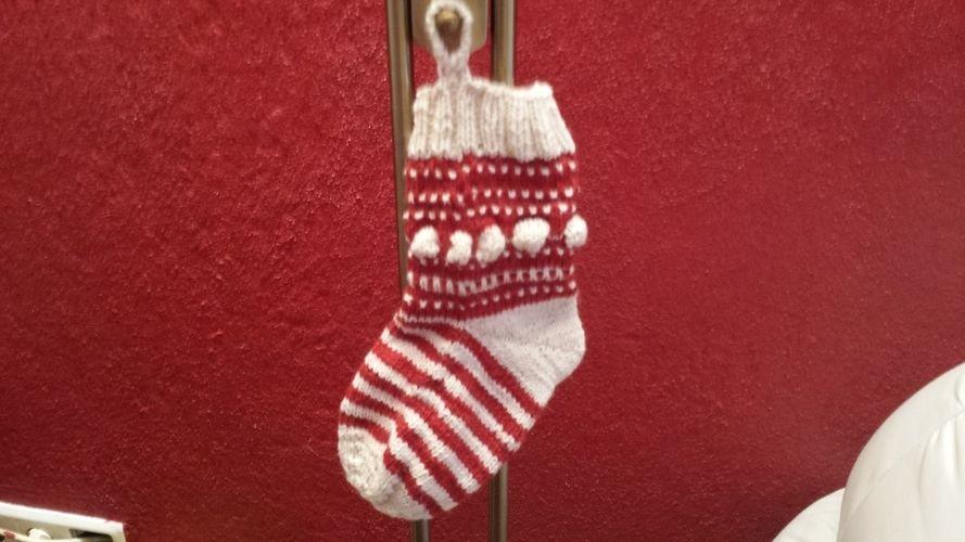 Makerist - Weihnachtsstrumpf - Strickprojekte - 1