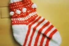 Makerist - Weihnachtssocken-KAL - 1