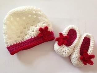 Makerist - Säuglingsschuh und Mützchen - 1
