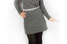 Makerist - Winterkleidchen im Schachbrettlook - 1