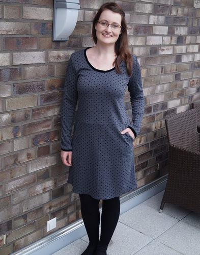 Makerist - Weihnachtliches Jerseykleid FrauFannie - Nähprojekte - 1