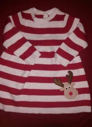 Makerist - Kleidchen weihnachtlich aufgepimpt - 1