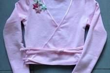 Makerist - Wickeljacke für Annas' Balettstunden - 1